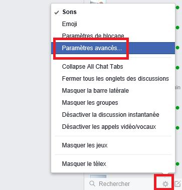 Facebook hors ligne