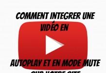 vidéo YouTube en lecture automatique