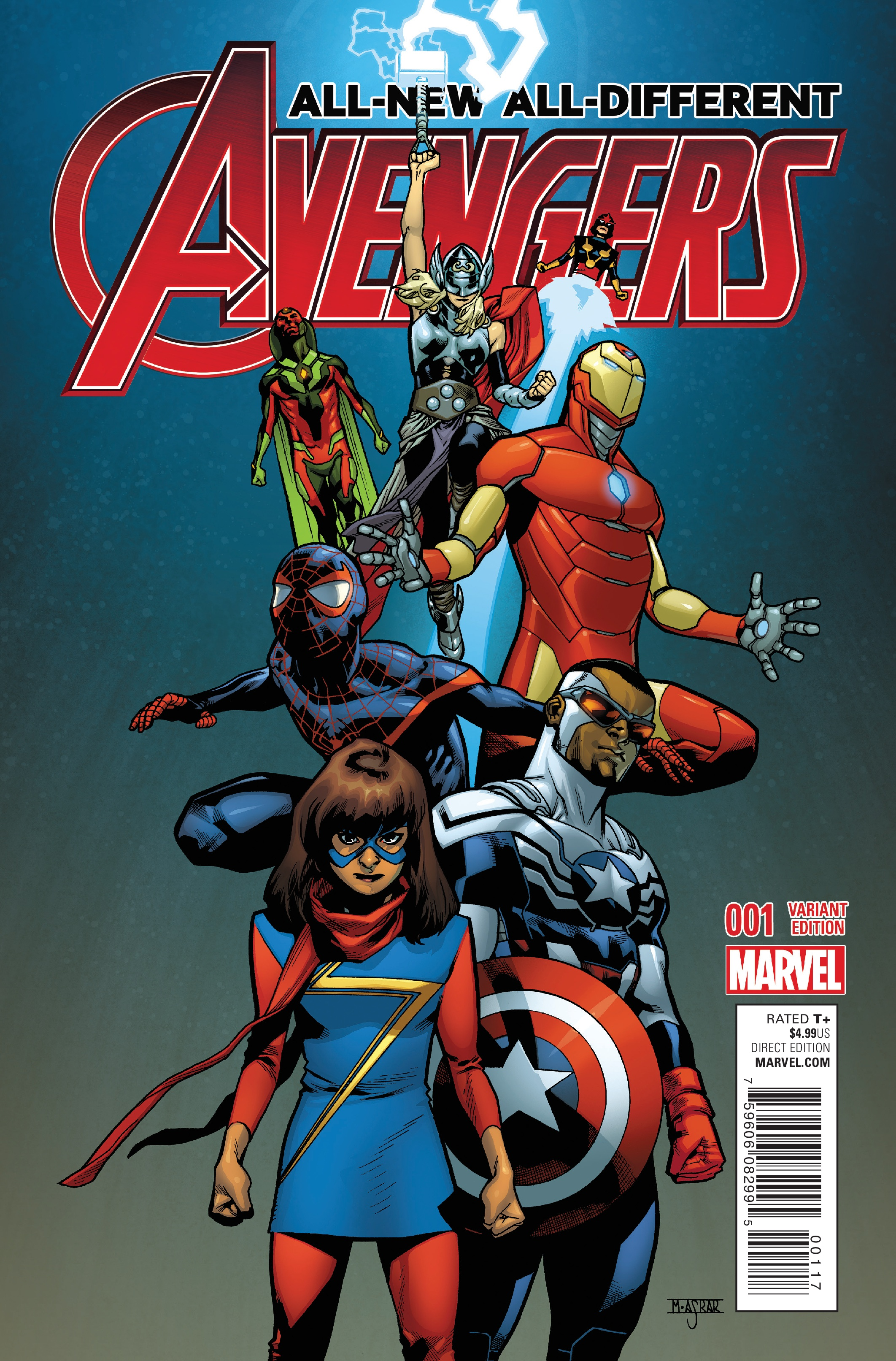 review all new all different avengers 1
