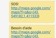 Android Configurer un message SOS avec un raccourci rapide.