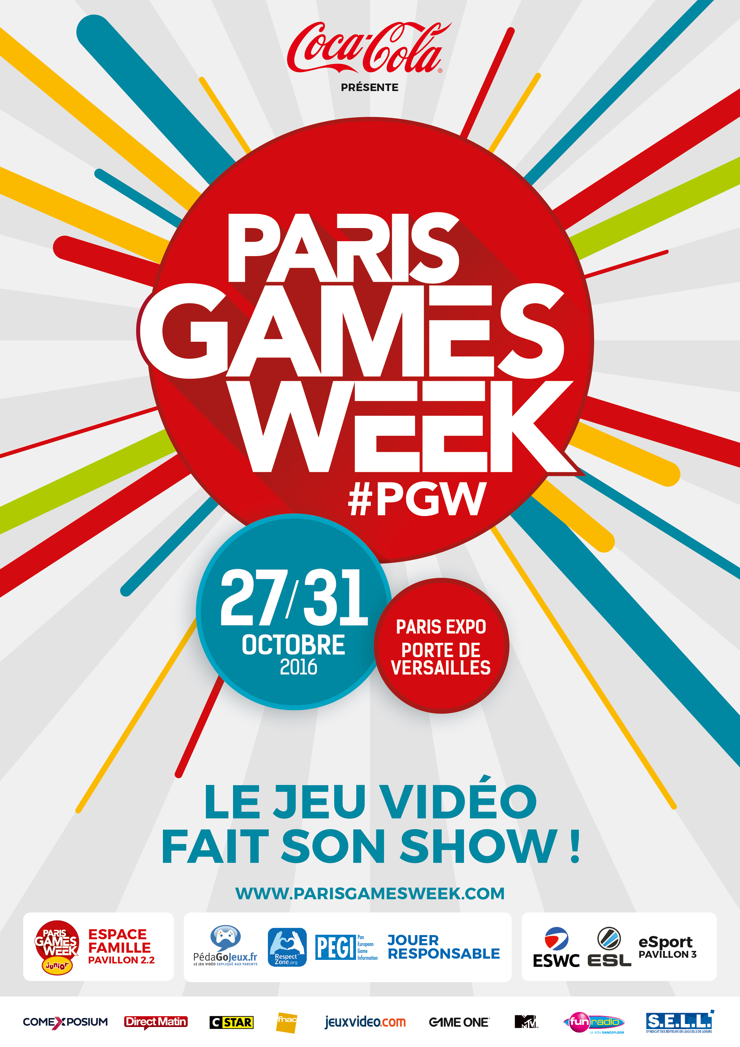 Paris games week 2016 blog sur la culture geek l 39 high for Salon paris games week