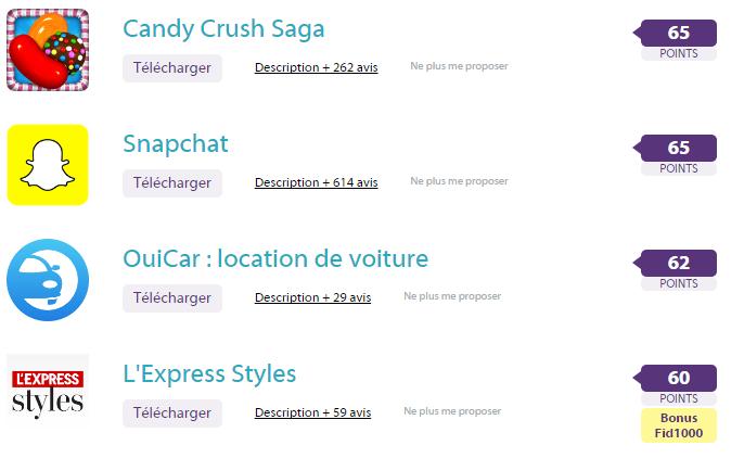 applications ZappyDay: Un site qui fait gagner des cadeaux en téléchargeant des apps?