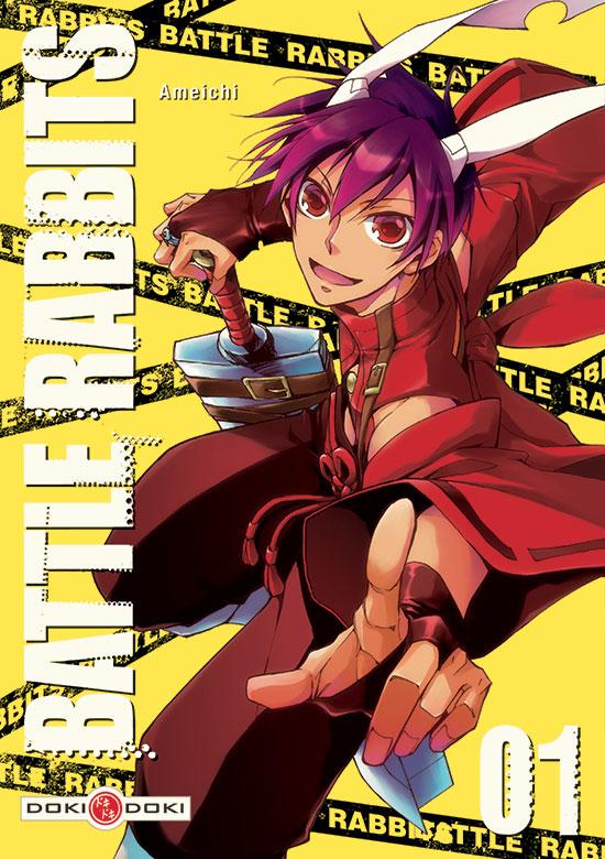 BATTLE-RABBITS-vol1 [Sortie mangas] La série Battle Rabbits, chez Doki Doki