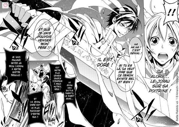 Battle-Rabbits-2 [Sortie mangas] La série Battle Rabbits, chez Doki Doki