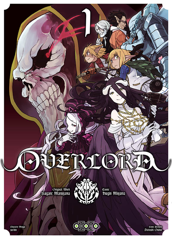 Overlord_1_jaq [Sortie Manga] La bande-annonce du tome 1 d'Overlord