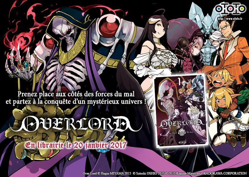 Overlord_Visuel-Promo Découvrez les premières pages d'Overlord