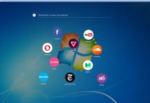 Page d'accueil Neon Opera Navigateur