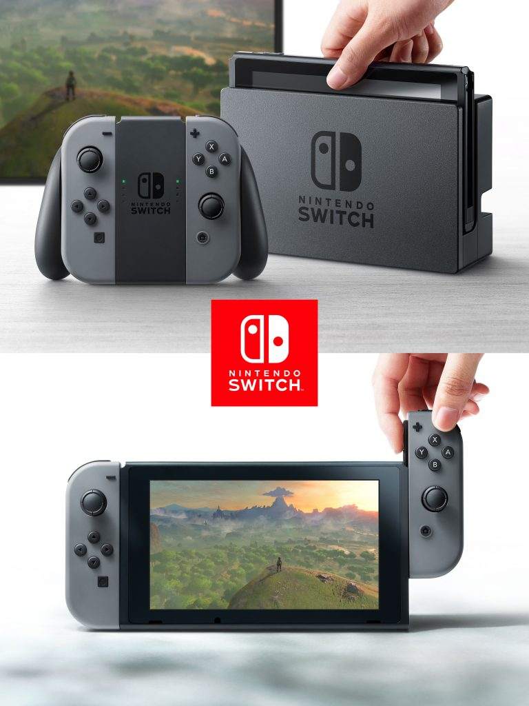 Nintendo Switch sur Brain De Geek