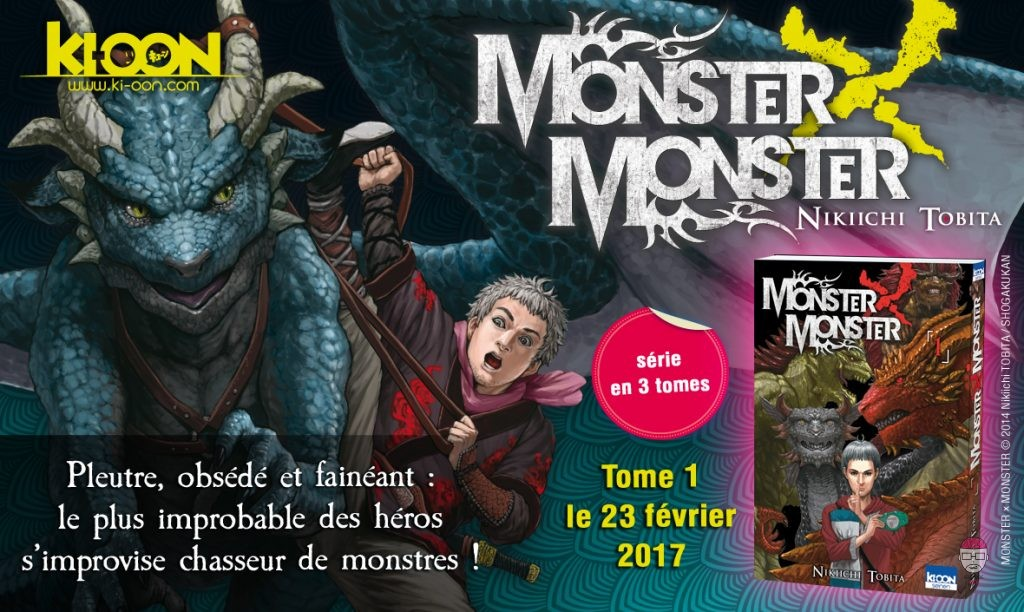 Monster-X-Monster_AnnonceKioonV2-1024x612 [Sorties mangas] Monster X Monster, chez Ki-oon !