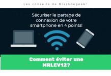 Sécuriser le partage de connexion de votre smartphone en 4 points