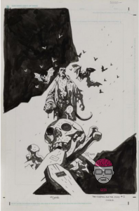 hellboy-198x300 Exposition & vente aux enchères de comics