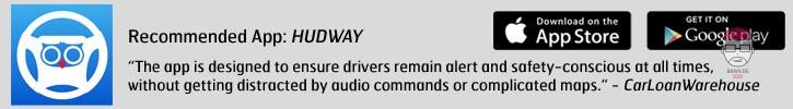 Support voiture pour affichage tête relevée HUD - HUDWAY