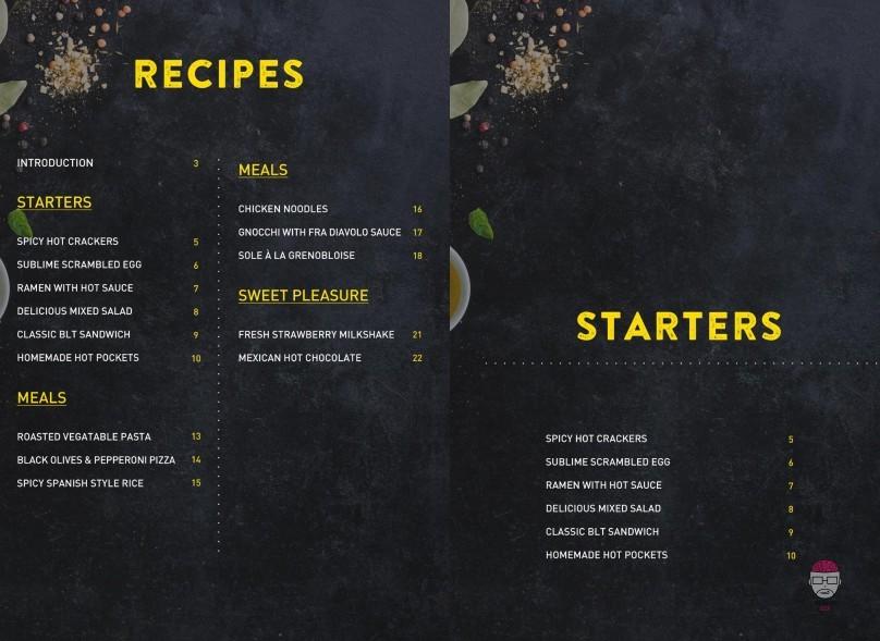 izombie livre recette cuisine