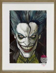 le-joker-232x300 Exposition & vente aux enchères de comics