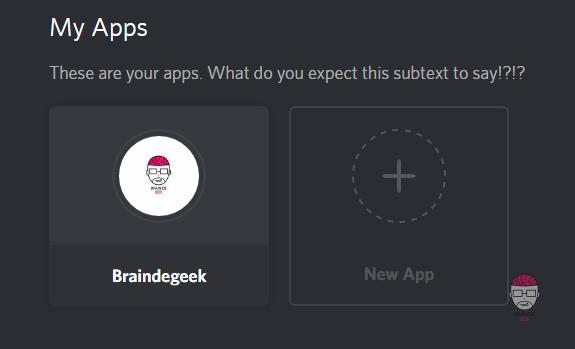 Discord New App