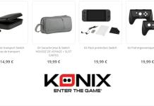 Konix accessoires Nintendo Switch