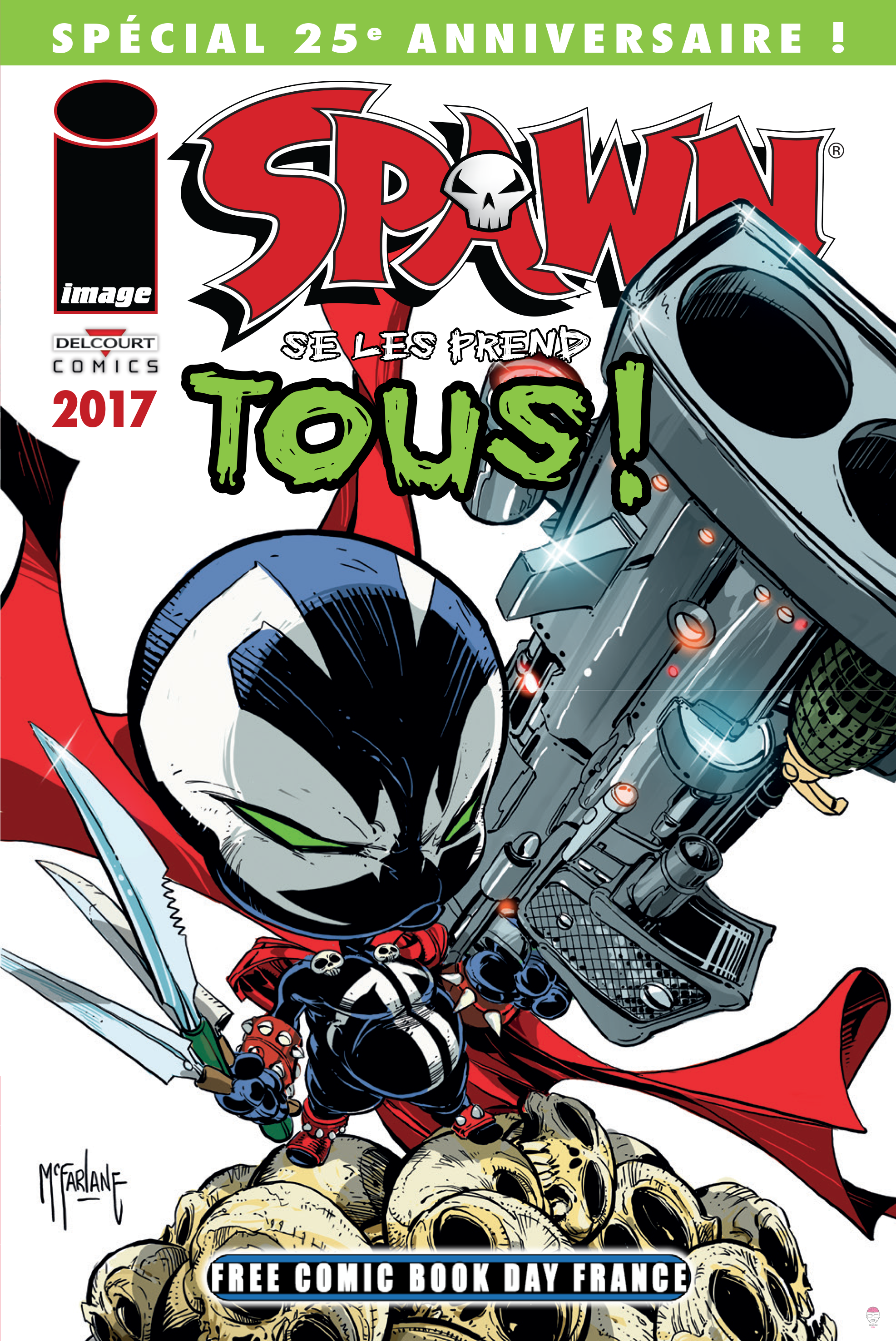 Free-Comic-Book-Day-2017-Spawn Free Comic Book Day 2017 : tous les comics disponibles gratuitement le 6 mai