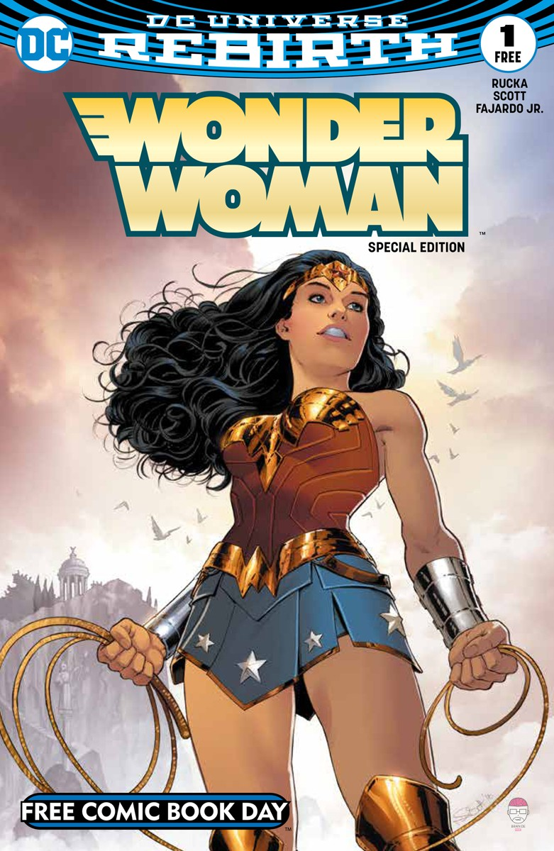 Free-Comic-Book-Day-2017-Wonder-Woman Free Comic Book Day 2017 : tous les comics disponibles gratuitement le 6 mai