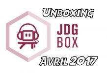 JDGBox du mois d'avril