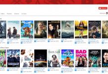 films payants et gratuits sur Youtube