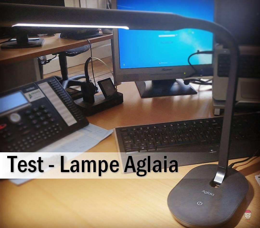 Test lampe aglaia la nouvelle amie de votre bureau for Bureau high tech