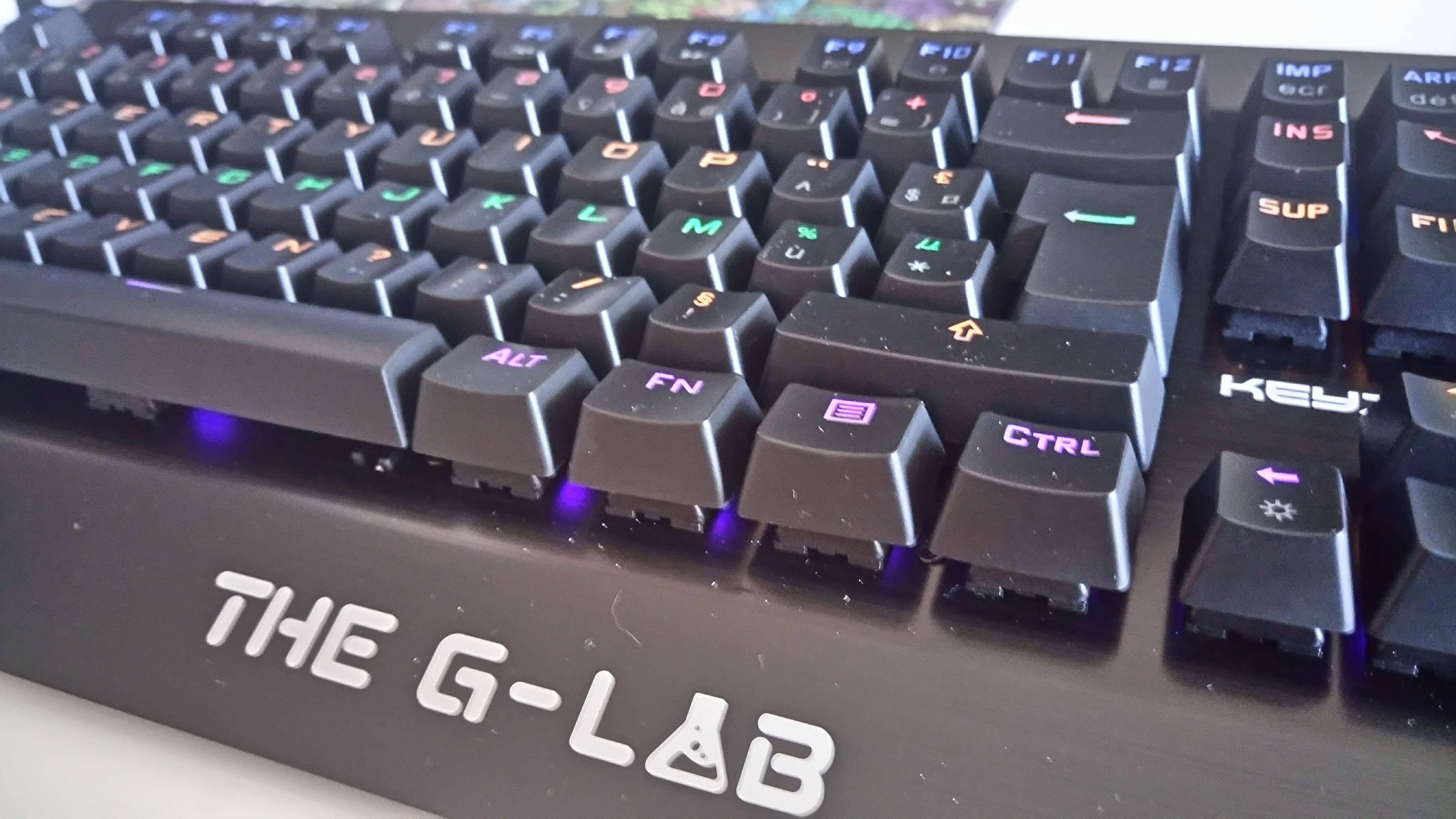 The G-Lab Keyz Meca : clavier mécanique à petit prix 1