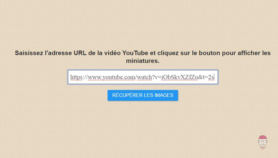 Tuto récupérer l'image d'une vidéo youtube Miniature, thumbnail