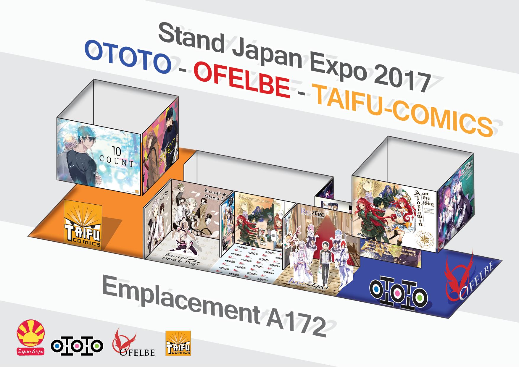 Japan Expo Les Stands : Japan expo les stands et nouveautés des éditions