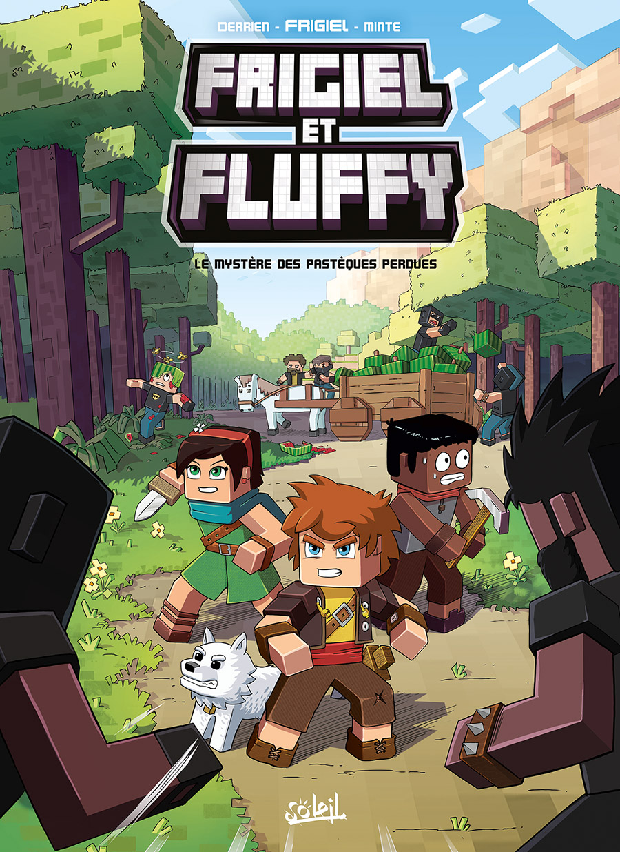 Critique bd frigiel et fluffy de l 39 univers minecraft for Ou apparait la pelle dans artisanat minecraft