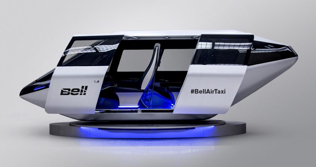 CES 2018 - AirTaxi Uber