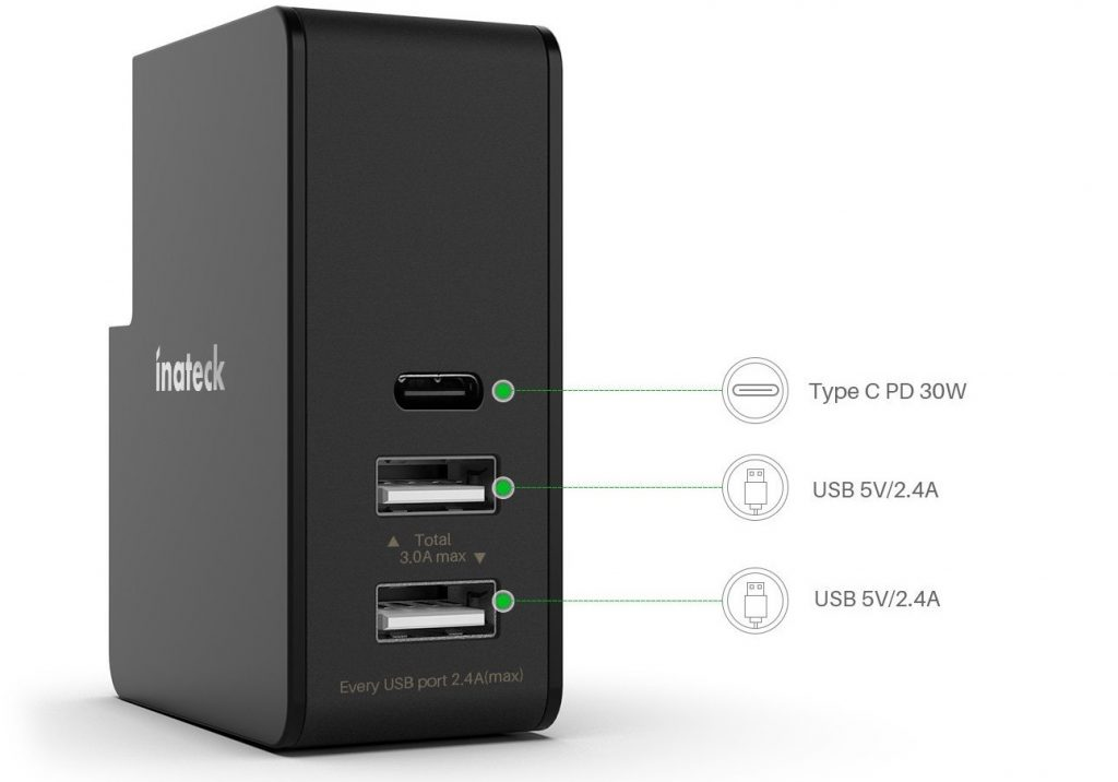 chargeur multiport usb