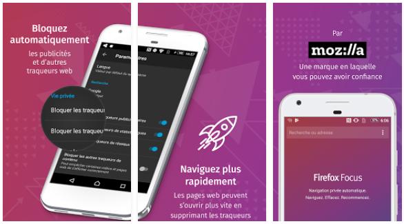 Firefox Focus, un navigateur mobile simple et efficace 1
