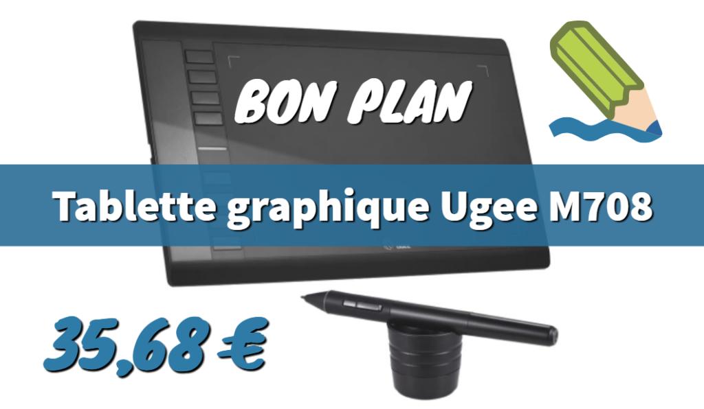 Tablette graphique Ugee M708