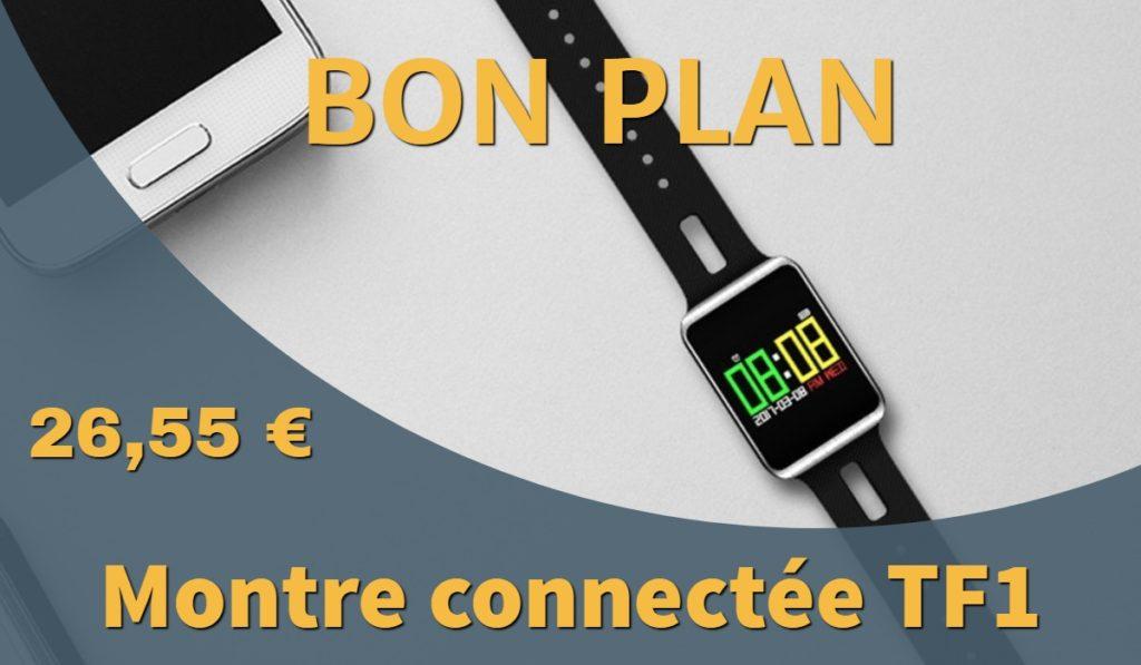 montre connectée TF1