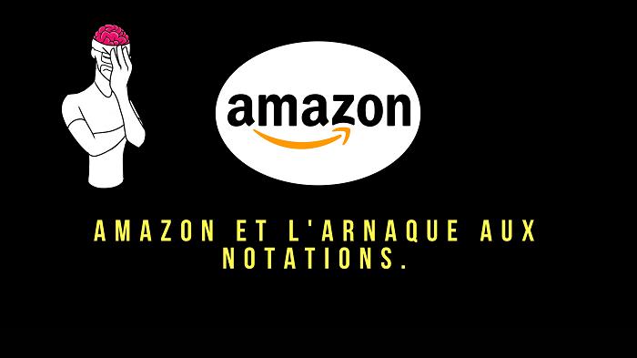 Amazon et l'arnaque aux notations.