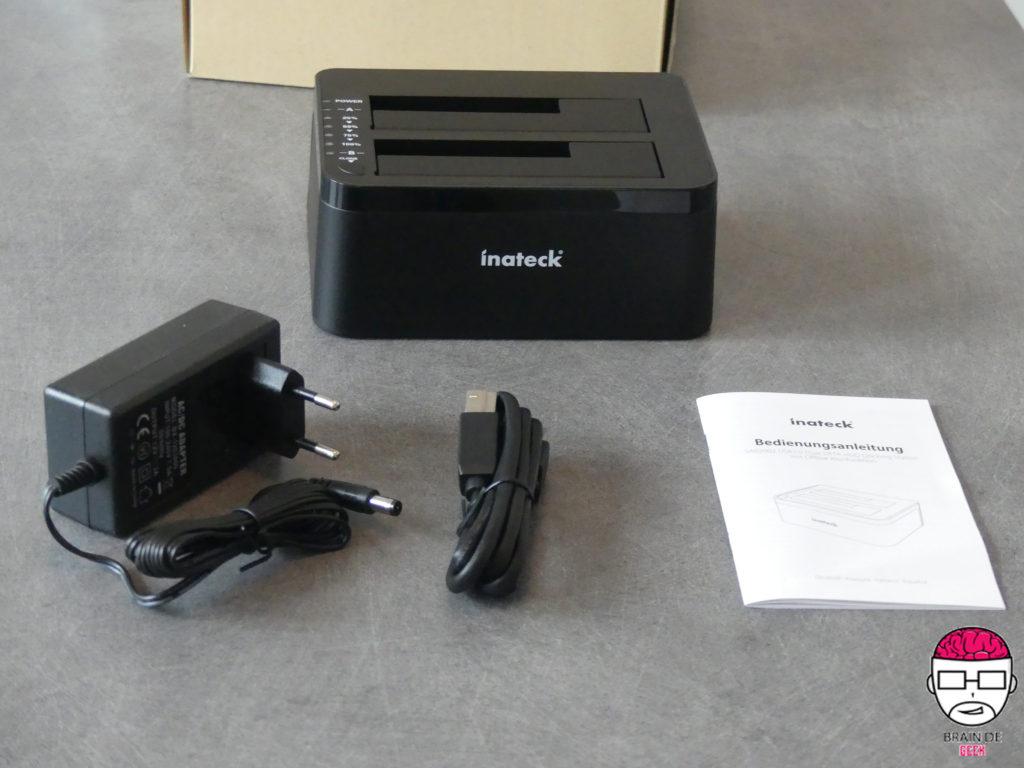 [TEST] Dock USB Inateck SA02002 (Pour la copie de disque à disque) 1