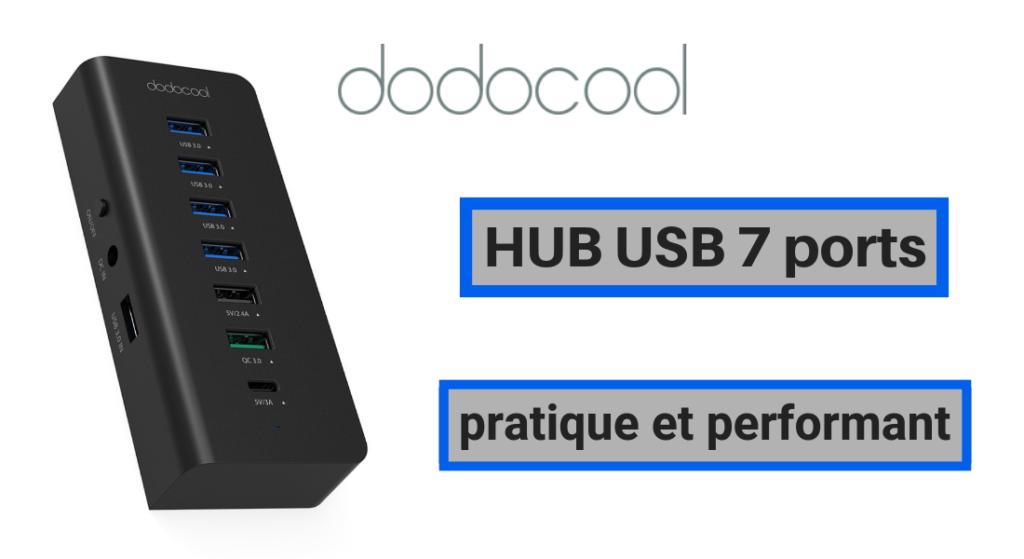 HUB USB 7 ports de Dodocool