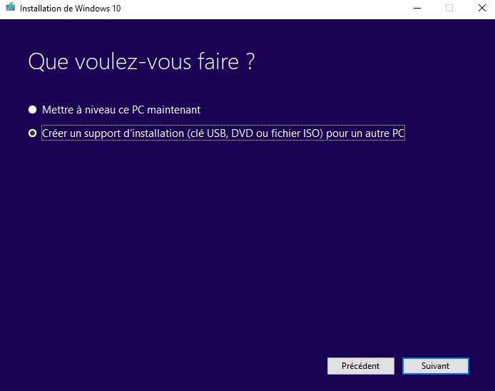 [Tuto] Créer une clé USB d'installation et de réparation Windows 1