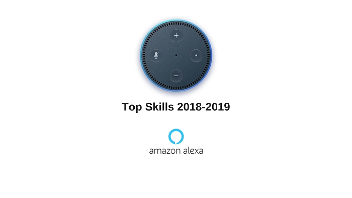 Top Skills Amazon ALexa 2018 2019