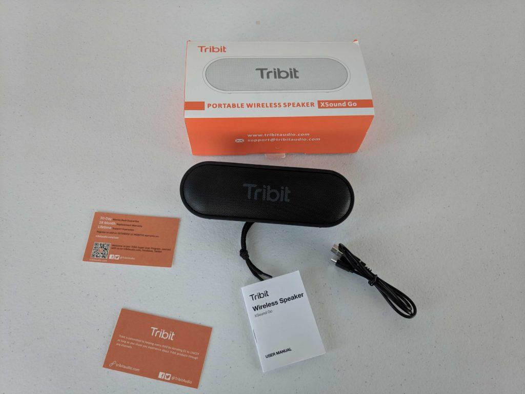 [TEST] Tribit Xsound Go, une enceinte Bluetooth étanche 1