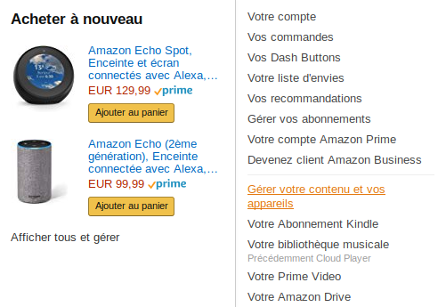 Amazon Alexa, comment télécharger un skill non dispo en France. 1
