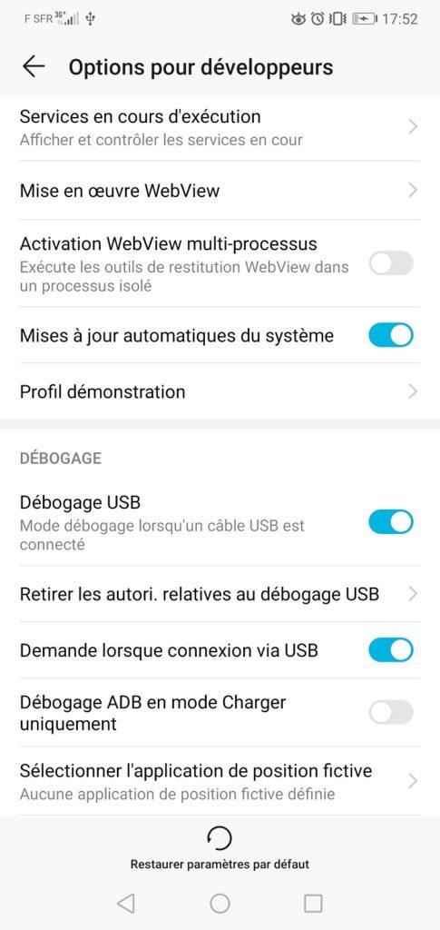 Comment activer le débogage USB sur les téléphones Android