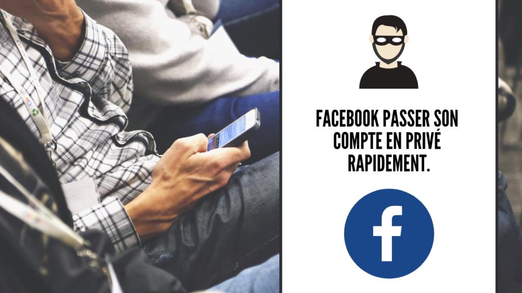 facebook privé