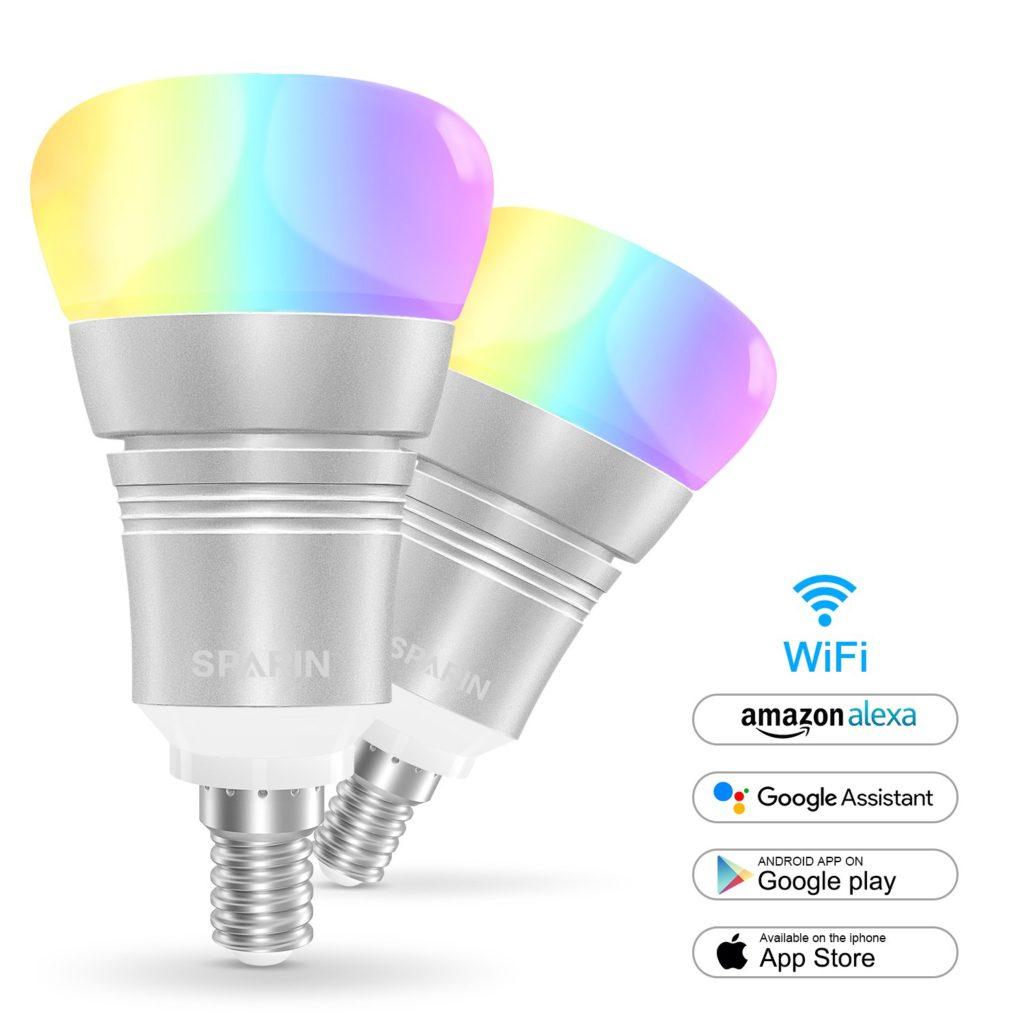 Ampoule connectée Sparin