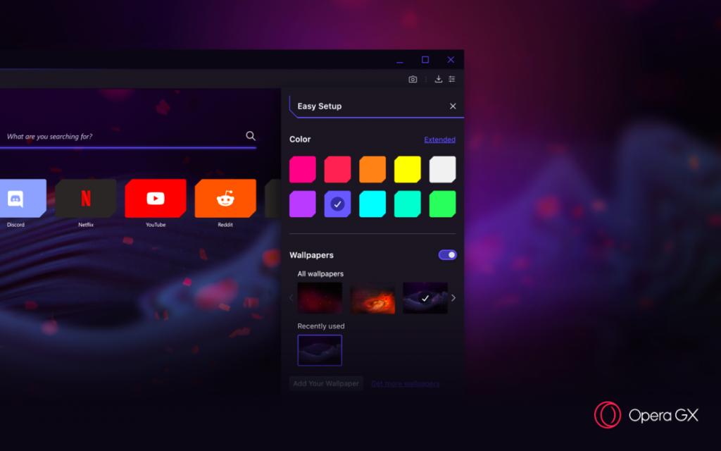 Opera présente Opera GX le premier navigateur de jeu au monde 1