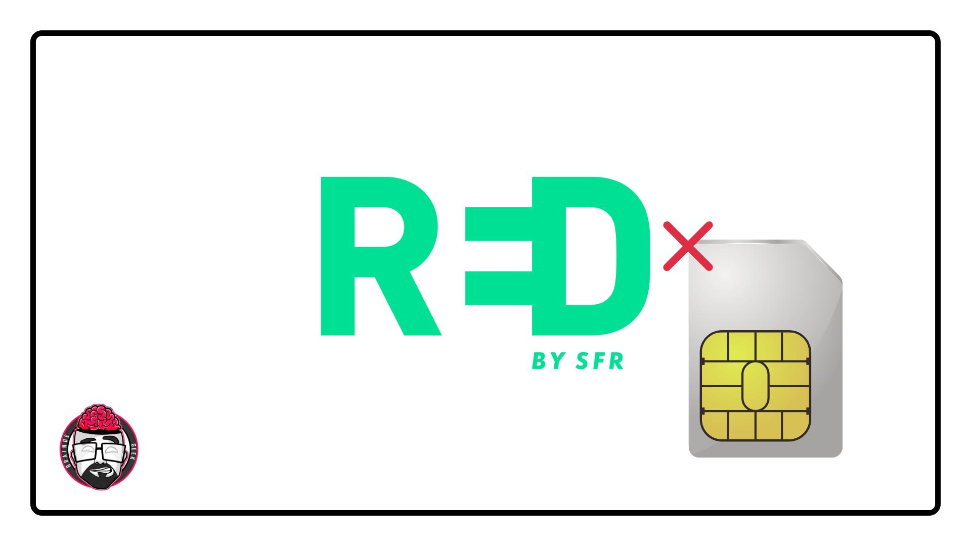 Red by SFR activation SIM : une erreur est survenue - Braindegeek