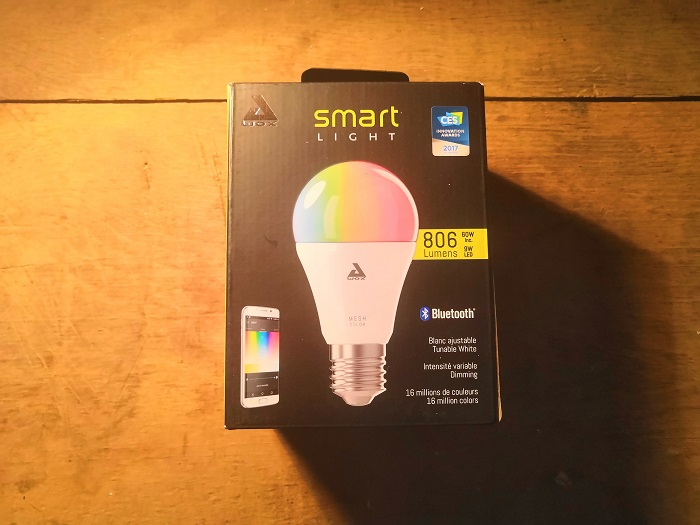 Test, prise en main AwoX smartlight. 1