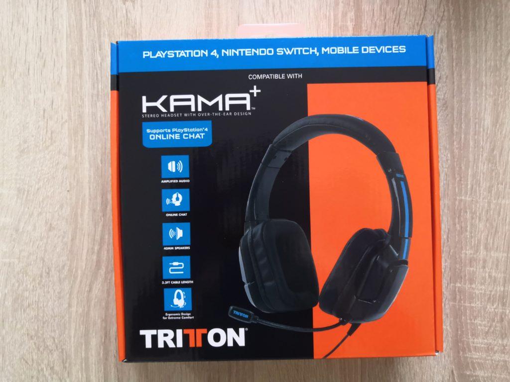 Test / avis : casque Tritton KAMA + PS4 / Nintendo Switch 1