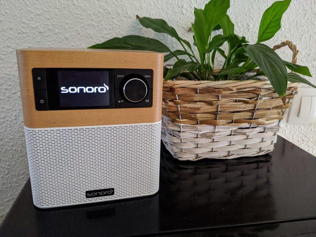 Sonoro Stream Radio, prise en main test et avis. 1