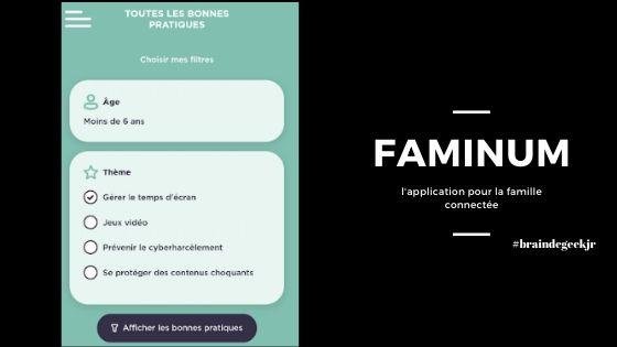 FamiNum, les bonnes pratiques numériques en famille 1